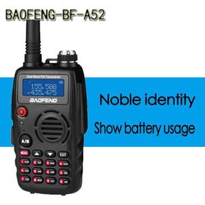 BaoFeng-A52 Dual-Band 136-174 400-520 MHz FM Ham Two Way Radio,Transceiver, Professional CB Radio Station Walkie Talkie1