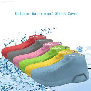 Plaj Raining Kullanım S / M / L için Silikon Anti-Skid Yağmur Ayakkabı Çizme Su geçirmez ayakkabı Kapak Yağmurluk Kapak Geri dönüştürülebilir Kaymaz Ayakkabı galoş