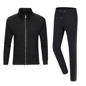 Men Sportswear Tracksuits Set Mens Autumn Winter Casual Tracksuit 2020 New Fashion Man Sweatshirts Coats Male Joggers Streetwear w10