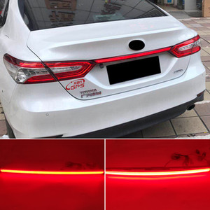 1PCS Rear Bumper Tail Light For Toyota Camry 2018 2019 2020 Red LED Taillight Reflector Brake Lamp turn Signal