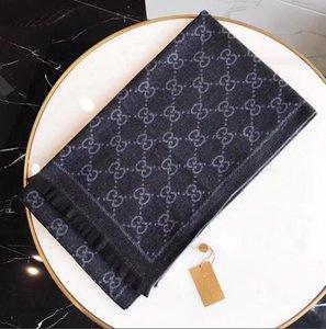Gucci echarpe lettera sciarpa di lusso della moda mens sciarpa primavera e l'autunno brand designer scialle e donna Cashmere sciarpa 180 * 45cm écharpe de luxe