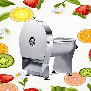 Slicer de pomme deche de pommes deche de bureau 60W Déchiqueteuse à fruits de citron Trancheur de légumes électriques Slicer à légumes en acier inoxydable