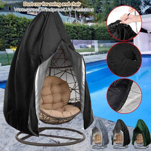 Waterproof Patio Chair Cover Egg Swing Chair Dust Cover Protector With Zipper Protective Case Outdoor Hanging Egg