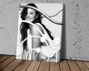 Demi Lovato Poster Canvas Painting Abstract Art Poster Print Oil Painting Bedroom Hotel Wall Art Painting Pictures
