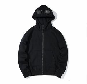 Habiles à capuche pour femmes pour femmes 19SS CP Company Société Tops à manches longues Veste d'hiver pour femmes Male Asiatique Taille