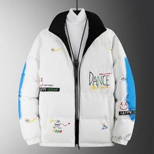 FQOX Daunejacke зимний мех вниз Parka Homme Jassen известная верхняя одежда Big FunRure Cooded FunRure Manteau Manteau Italy Down куртка