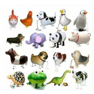 20pc lot happy birthday gift walking foil balloons as gift farm animal can hold farm party free shipping 1027