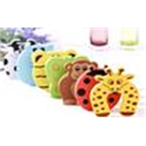 Jammers New Animal Care Child Cartoon kids Baby Stop Door stopper holder lock Safety Guard Finger 7 styles outletO75B