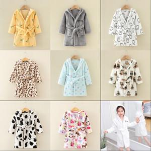 Flannel Pajamas Family Matching Christmas Kids Bathrobe Children Woman Man Leisure Wear Spring Autumn Winter 18 75yy K2