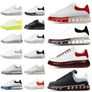 Sneakers alexander mcqueen mcqueens mc queen mqueen  Oversiezd Espadrilles Homens Mulheres Almofadas Espadrille Liso Branco Plataforma Preta Air Almofada Sole Flats Sapatos Casuais
