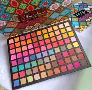 Allen Queen 88 colores Paleta de ojos Galaxy Eyeshadow Paleta mate Shimmer Nuevo Desnudo Gratis Envío rápido