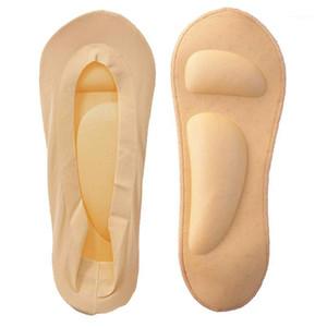Chaussettes Femmes 3D Coussin de coussin en relief Invisible Foot Pocher Pain Support Chaussettes de massage pour High Heel Ice1