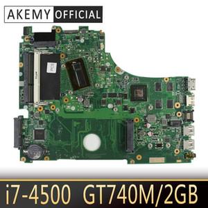 X750LB placa base del ordenador portátil para ASUS X750LB X750LN X750L K750L A750L motherboard prueba 100% GT740M ok -4500 CPU / 2 GB