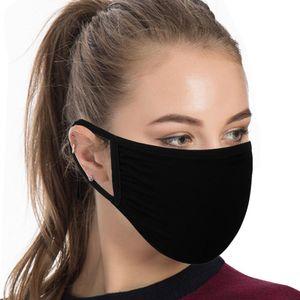 Bouche coton réutilisable Fa -mask Haze coupe-vent hommes filtreurs Masques anti-poussière Earloop pour les femmes bouche coton réutilisable Fa -mask coupe-vent Haz Xier