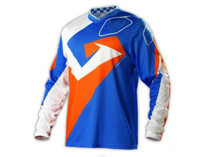 2019 New Mountain Bike Downhill Cycling Jersey Bike Racing Top Motocross Long Sleeve T-Shirt Customized Quick-drying Breathable Perspiration