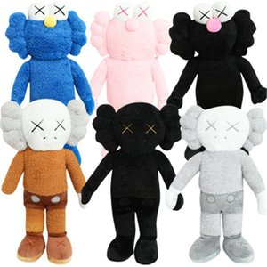45cm Sesame Street Plush Toys Kaw Sesame Cookie Soft Stuffed Peluches Doll Cute Plush Home Party Decorations Xmas Gift for Girls