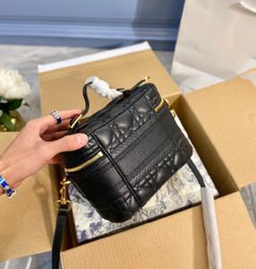 الأزياء المصممين أكياس الأزياء حقيبة مستحضرات التجميل مصمم قسط الماس مطرزة حقيبة يد جودة عالية حقيبة متعددة الأغراض 4 ألوان