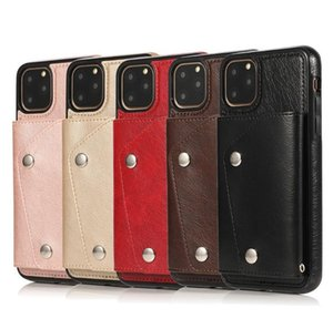 Leather Wallet Case For iPhone 11 Pro Max 6 7 8 XR XS Photo Frame Phone Cover With ID Card Slot