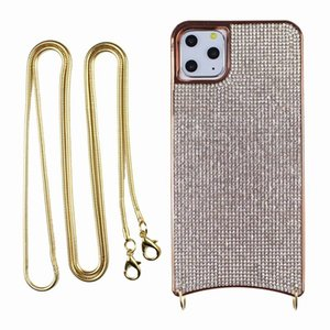 Electroplating flash diamond anti-drop soft shell IPHINE 12 case Phone Cases For iPhone 11 Pro Max Xs 7 8 Plus Xr X SE 2020 Cover Case