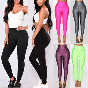 hirigin Sexy Womens casual Full Length High Waist legging fashion female Skinny Leggings ladies Stretch solid new Fitness
