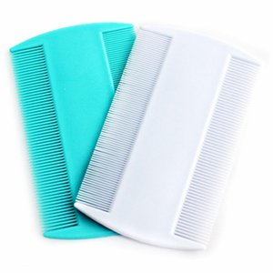 Double Sided Head Lice Comb Protable Fine Tooth Head Lice Flea Nit Hair Combs for Styling Tools YYB3912