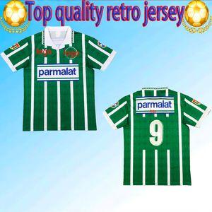 1993 1994 Palmairas Retro Fútbol Jersey 93 94 Edmundo Zinho Edilson Rivaldo Evair Roberto Carlos Vintage Classic Football Shirt