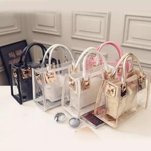 Luxurys Designers Bags Fashion Women Clear Transparent Shoulder Bag Jelly Candy Sum Handbags Women Luxurys Designers Bags 2020