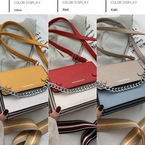 Kıdemli anlamda net kırmızı bayan 2020 yeni moda Kore yabancı stil omuz çapraz kapanış Omuz bagSmall çantası küçük kare bagsquare torba e4FB9