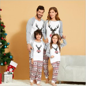 New Christmas Pajamas Sets for Children Girls Father Son Matching Clothes Mother Child Clothing Set Baby Outfits Unisex Wear