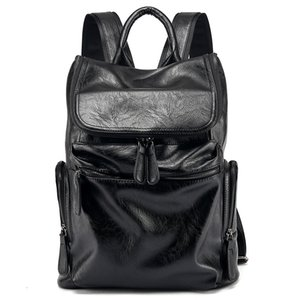 Korean Version Of The New High-Capacity Men's Trendy Fashion Backpack Business Casual Backpack Computer Bag School Bag