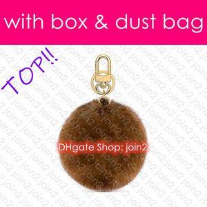 Top. M69563 Plush FUR BAG CHARM AND KEY HOLDER Designer Fashion Dragonne Car Key Holder Pouch Coin Purse Mini Pochette Accessoires Cles