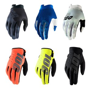 Новая зимняя MTB Cycling Man Храните теплый мотоцикл полный палец велосипедные гонки за пределами дороги, перчатки автомобиля 201104