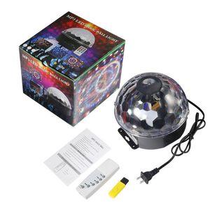 Speed-ajustável USB porta dinâmica Líquido Sky Animated Movendo Estrela MP3 LED Magic Ball Light Crystal Para Pub Stage KTV clube da casa