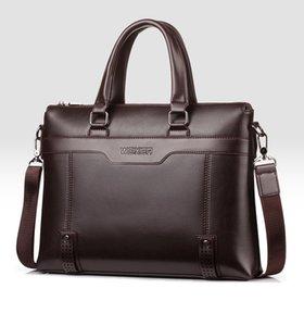 Business men's bag high-end shoulder bags men's handbag trend men's bags 2019 new casual Messenger bag briefcase male