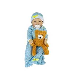 Avani Doll 'Diana' 45 cm Silicone Vinyl Newborn Baby Dolls Handmade Lifelike Baby Dolls Realistic Reborn Baby Dolls