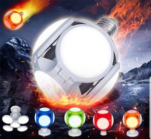 LED Folding Bulbs 40W E27 Football UFO Bulb Lamp 360 degrees AC 85-265V 110V 220V Lampada LED Spotlight Light