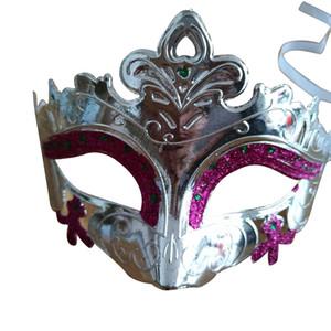 Sexy homens Mulheres Traje Prom máscara Venetian Mardi Gras Party Dance Masquerade Ball Halloween Mask Fantasia Vestido Traje PPD3358