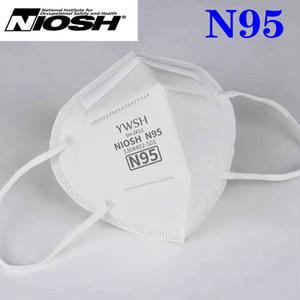 NIOSH N95 KN95 маскировать сертификат качества США Авторизованного Импорта дизайнер маска для лица роскошного многоразовые 6 слоя защитного Mascherine mascarilla