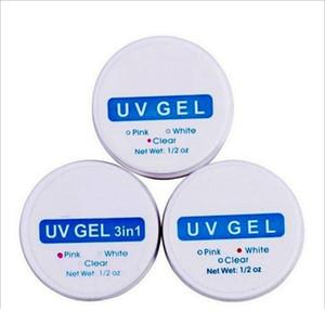 3 Renkler UV Jel Tırnak Uzatma Renkli Jeller Çivi Çongun UV Jel Oluşturucu Nail Art İpuçları Polonya Jlkfg
