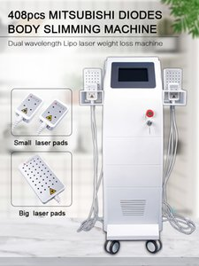 408 diodes lipolaser machine 650nm 980nm Dual Therapy Fat Burning Weight Loss Machine Lipolaser Slimming Machine With Solon Uselaser