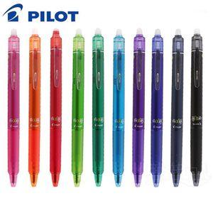 Gel Pens 1PCS Pilot LFBK-23EF 23F Magical Erasable Press Pen 16 Color 0.5 0.7 Mm Stainless Nib Frixion Ball Knock Japan1
