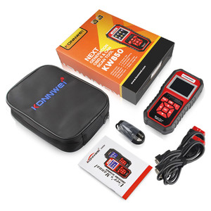 New KONNWEI KW850 OBDII OBD2 EOBD Car Auto Codes Reader Diagnostic Scanner Tool 12V With Retail box UPS DHL Free Shipping