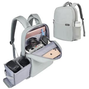 Caden caso L4 bolsa de la cámara DSLR hombro impermeable mochila portátil cámara digital fotografía lente bolsas de equipaje para Canon Nikon