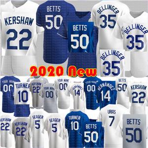 Los 50 Mookie Betts Angeles Jersey Cody Bellinger 35 Jersey Clayton Kershaw Julio Urias Enrique Hernandez Corey Segarder Justin Turner Jerseys