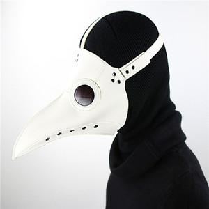 Einzigartiges Design handgefertigt Krähe mage Maske Vogel Schnabel Punk Dampf-Punk-Gothic Halloween Rollenspiel Dorn Dampf