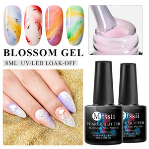 Mtssii 8ML Blossom Gel Nail Polish Magic Smoke Effect Magic DIY Varnish Manicure Decoration Soak off UV Nail Art Salon