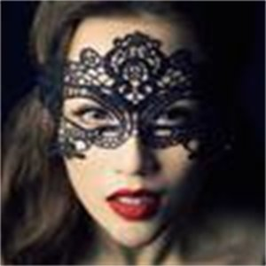 Lace 6 Design Masquerade Masks Masks Mask Lace Black Party Sexy Toy for Ladies Halloweee0
