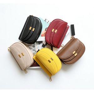 Chain Waist Bag Bag 2019 Versatile Small Saddle Chest Mini Organ New Slung Handbags Design Fashion Tiny Purses Evtux