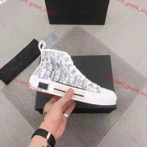 Dior shoes Heiße Frauen Männer Casual Canvas Sneakers Schuhe zeigen Stil Topliebhaber Sneakers Leinwand Schuhe mit Kasten Top Qualität EUR35-46