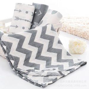 عالية الجودة الشاش القماش القطن الطفل الوليد Swaddles الطفل أغطية طبقة مزدوجة شاش منشفة حمام عقد بيع الأغطية الساخن 201019